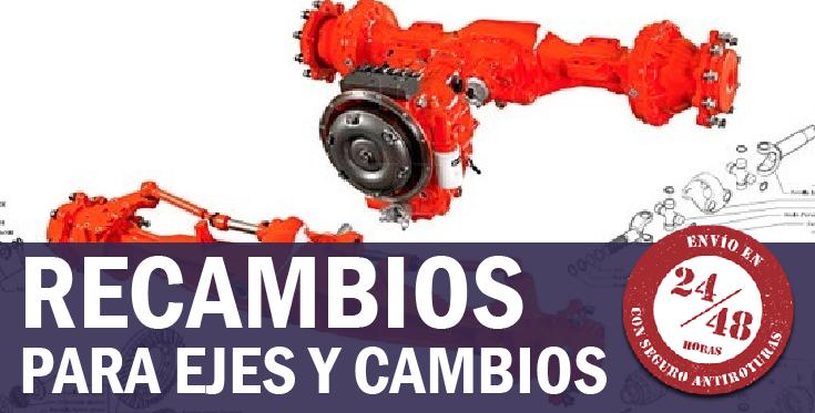 Recambios para ejes y cambios de tractor